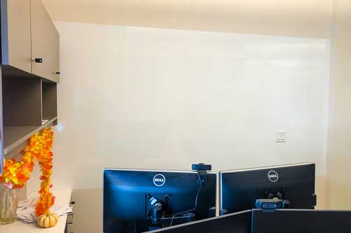 dry erase film for businesses