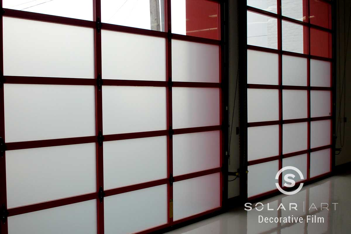 Frosted Window Film | San Francisco, California | Commercial