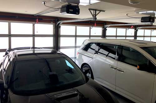 garage home window tinting