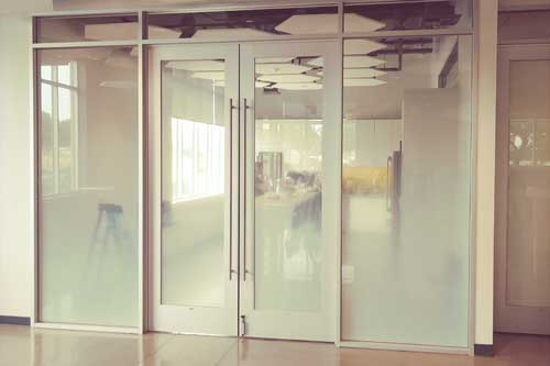 gradient window film for office glass