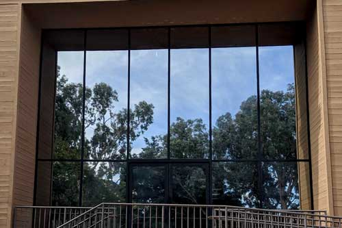office glare reducing window film