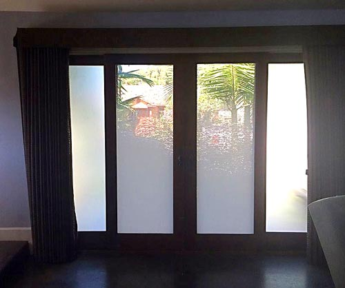 San Clemente gradient window film