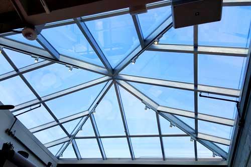 tinting skylights
