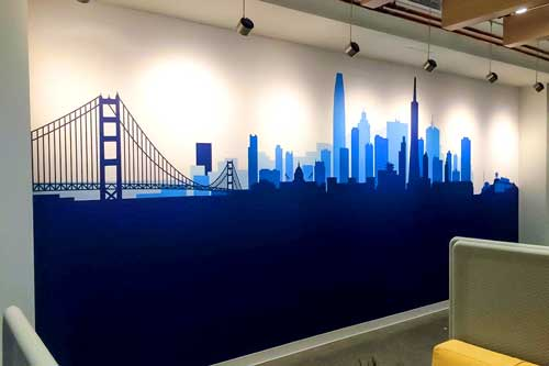 wall graphics for businesses