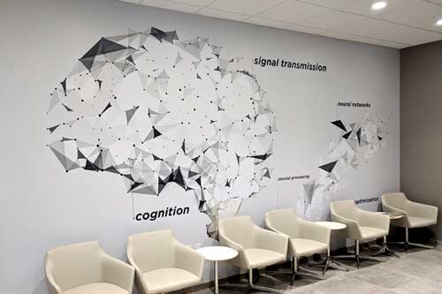 wall murals for doctor office