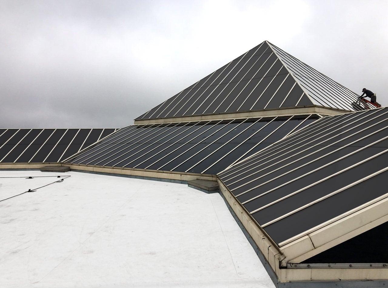 Commercial Solar Control Window Film - Exterior Skylight