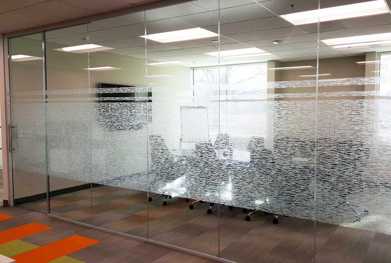Decorative Window Film For Corporate Building