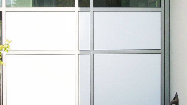 Whiteout window film for offices