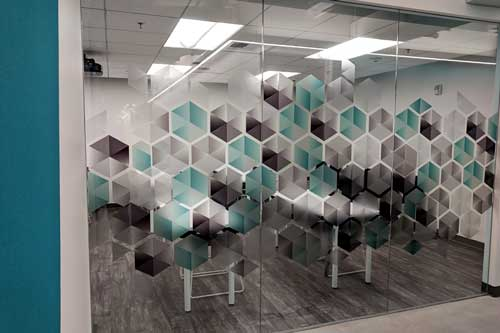 custom graphics for office windows la