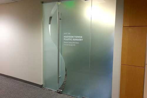 custom vinyl for doors in seattle