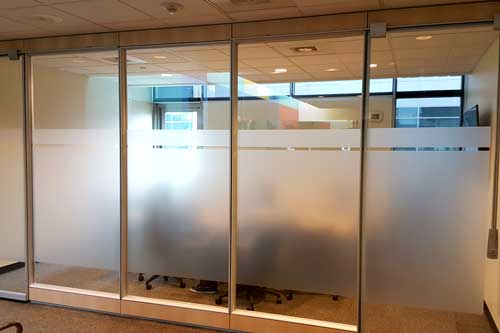 decorative window film for office windows