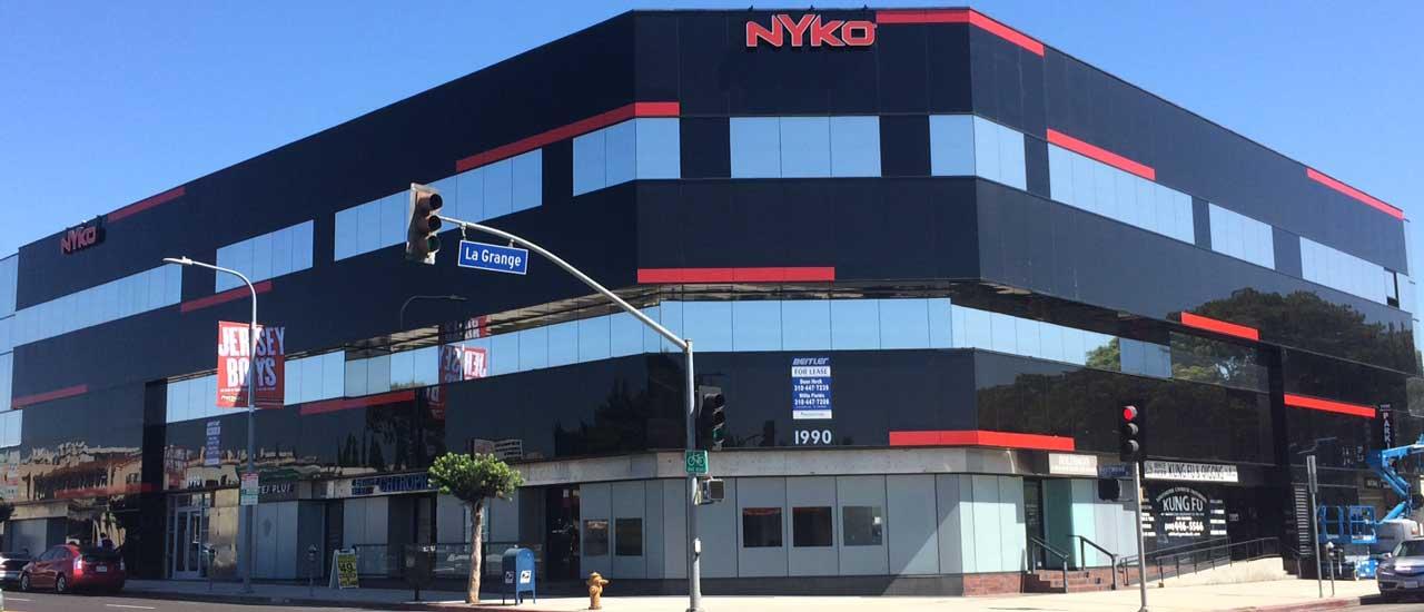 Exterior Vinyl Building Wraps