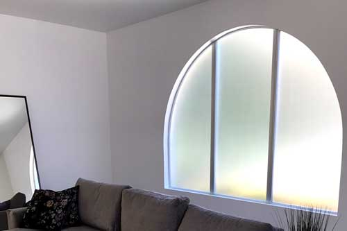 frosted window film for home privacy
