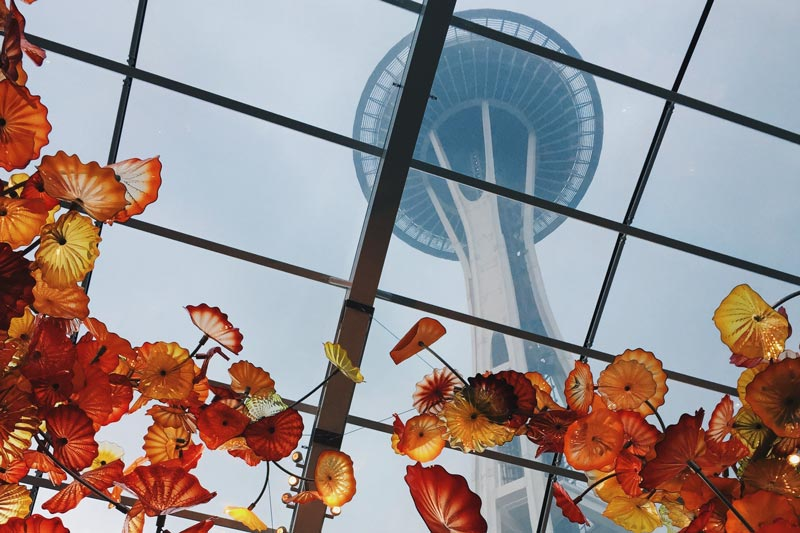 Seattle window tint at space needle