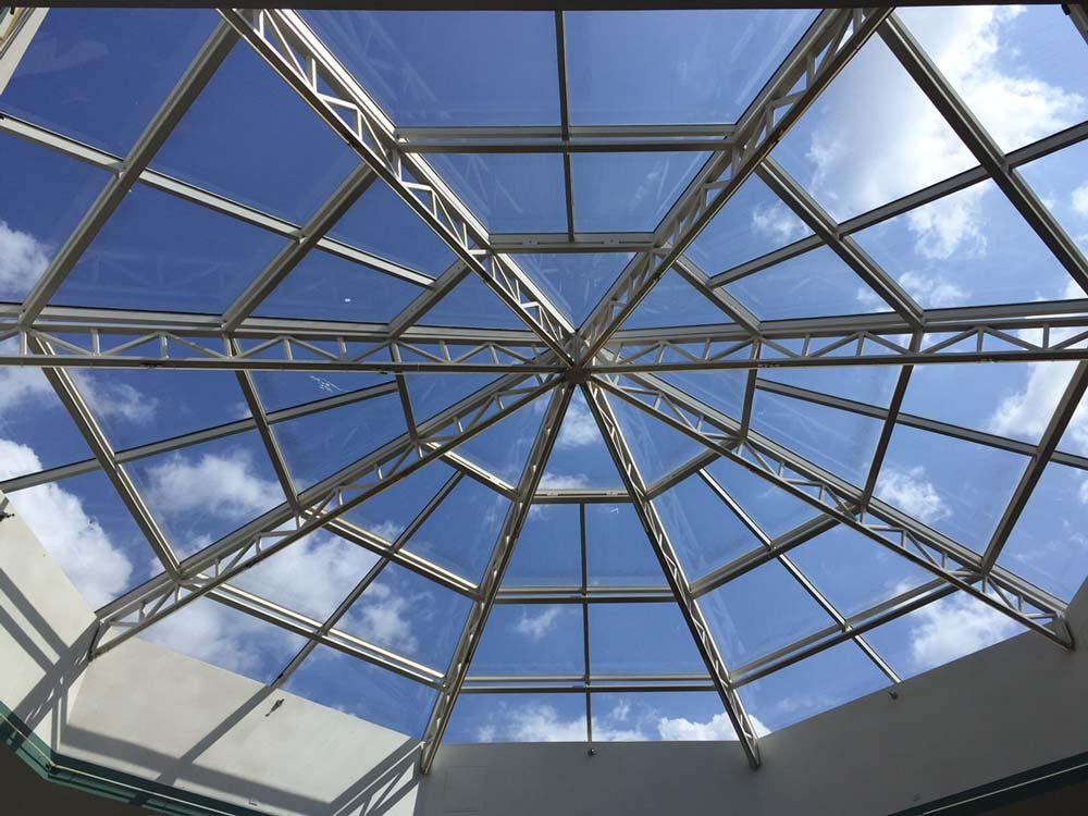 Commercial Solar Control Window Film - Exterior Silver
