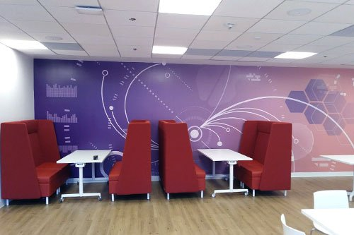 Wall graphics San Francisco California